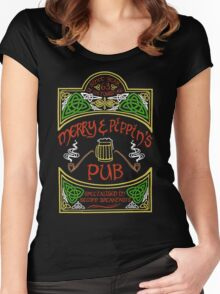 Merry & Pippin's Pub Women's Fitted Scoop T-Shirt