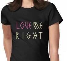 EXO Love Me Right Womens Fitted T-Shirt
