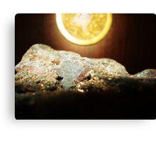 Peaceful Lava Rock Canvas Print