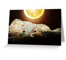 Peaceful Lava Rock Greeting Card