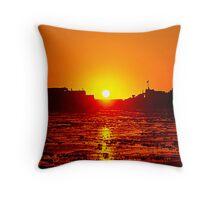 HMAS protector - Heron Island - Australia Throw Pillow