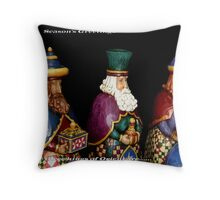 Three Kings Throw Pillow