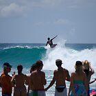 "Crowd pleaser "" Snapper rocks"" Gold coast, australia by Anthony Wilson"