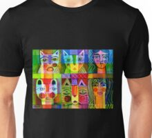 Cats and two ladies T-Shirt