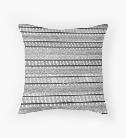 Tracks Left By Trains  Throw Pillow