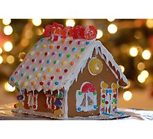 Little Gingerbread House Photographic Print