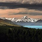 Lake Pukaki - For Calender 2010 by Steven  Sandner