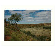 Wolfe Creek Meteorite Crater Art Print