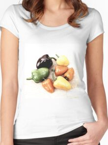 Peppers Women's Fitted Scoop T-Shirt