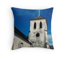 St. Francis Xavier Cathedral, Nassau, Bahamas Throw Pillow
