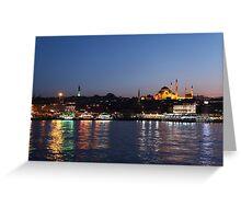 Istanbul  Greeting Card