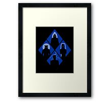 Classic monsters Framed Print