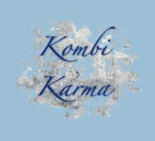 Kombi Karma - Blue text Kids Clothes