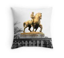 Washington DC Memorial Bridge Statues Throw Pillow