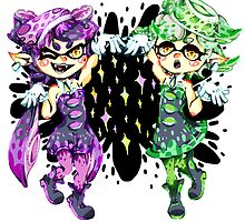 Callie and Marie No Text by megtalgearsalad