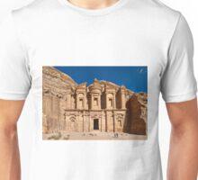 The Monastery Al Deir in ancient town Petra Unisex T-Shirt