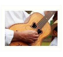 Typical Azores guitar Art Print