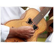 Typical Azores guitar Poster