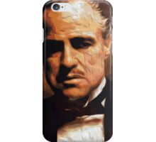 The Godfather Digital Oil iPhone Case/Skin