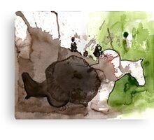 the cowboy dichotomy Canvas Print