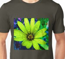 Flowerss Sap Green Unisex T-Shirt