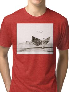 man with wings Tri-blend T-Shirt