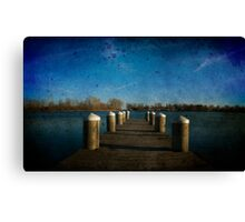 Fishing for Dinner Canvas Print