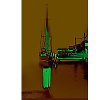 Docked At Woy Woy 1.34 Photographic Print