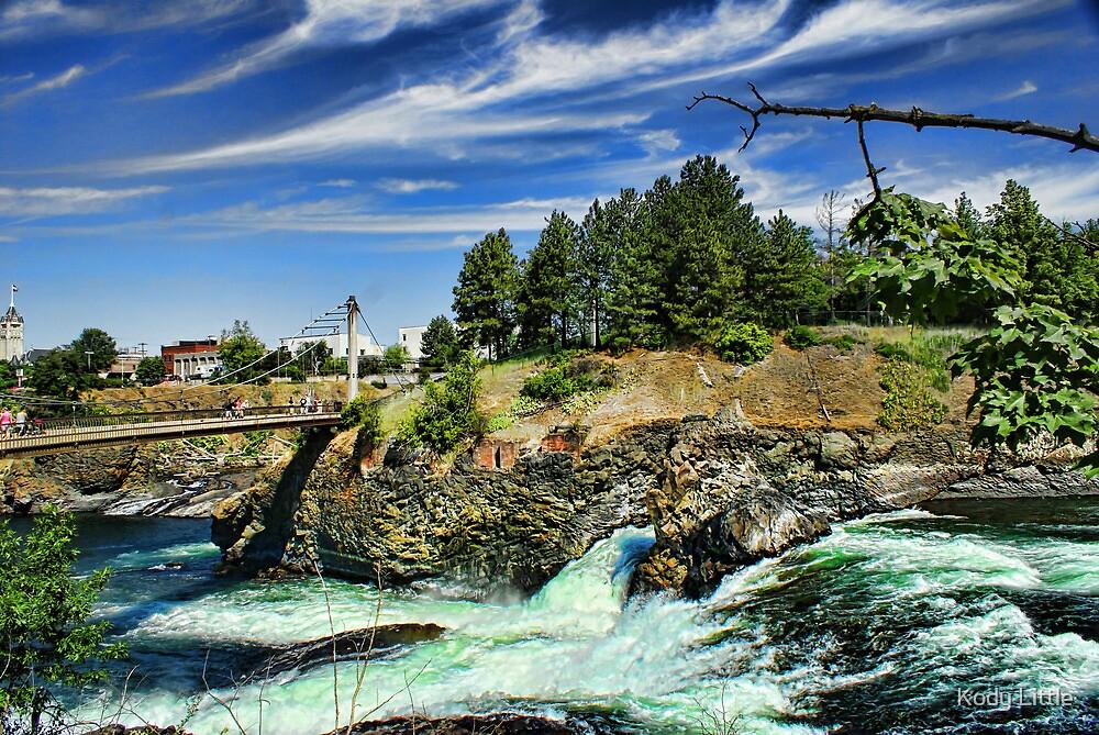 Spokane River by Kody Little