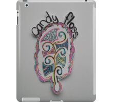 Colored Candy Floss Drawing iPad Case/Skin