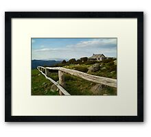 Craigs Hut, Victorian High Country Framed Print