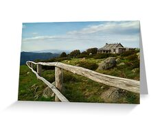 Craigs Hut, Victorian High Country Greeting Card
