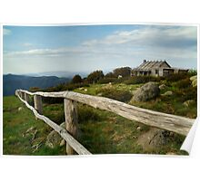 Craigs Hut, Victorian High Country Poster