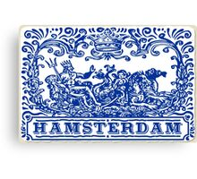 Traditional Tiles Amsterdam Azulejos  Canvas Print