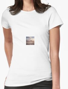 Frosty Mornings Womens Fitted T-Shirt
