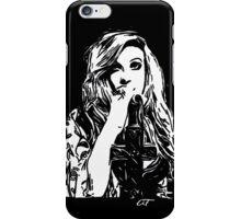 Mia Swier - Black & White iPhone Case/Skin