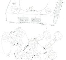 Videogame console #6 by Jazmine Phillips