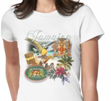 jamaica  Womens Fitted T-Shirt