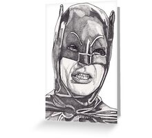 The Bat Greeting Card