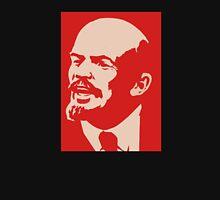 Lenin communist red poster soviet union propaganda  Unisex T-Shirt