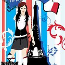 Girl in Paris by haruka