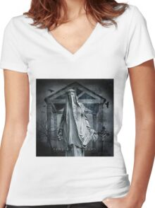 No Title 74 Women's Fitted V-Neck T-Shirt