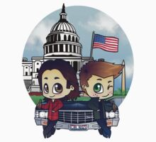 Winchesters in DC Kids Tee