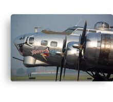 B-17 Yankee Lady Canvas Print