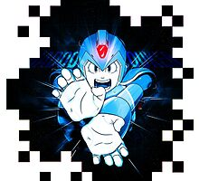 Megaman X-Hadouken by FuShark