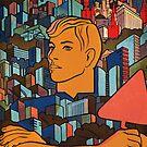 Moscow soviet union propaganda poster by SofiaYoushi