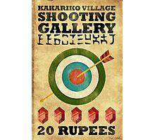 Legend of Zelda Shooting Gallery Poster Photographic Print