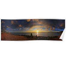 Wellington Point Panorama Poster