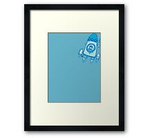 Rocket Framed Print