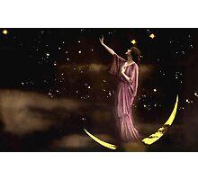 Vintage *Celestial Goddess* Photographic Print
